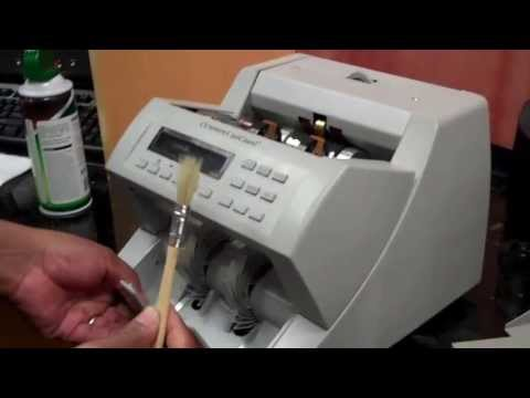 Cleaning and Maintenance Instructions For The Cummins JetCount Cash Counter