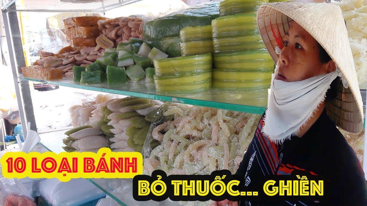 Xe bánh ngọt chục món nổi tiếng ở Sài Gòn như có thuốc ghiền