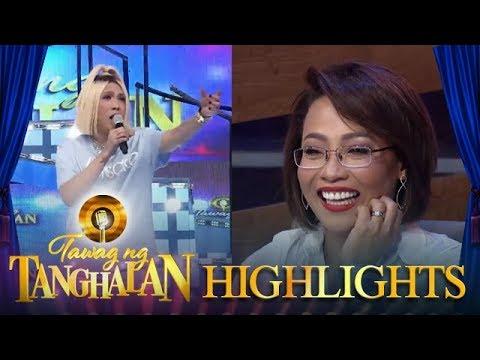 Tawag ng Tanghalan: Vice impersonates Jaya