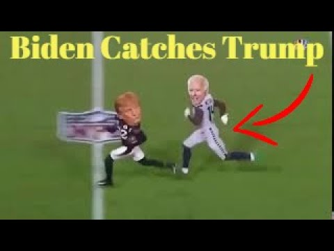 Biden Catches Trump In The Polls Dk Metcalf Budda Baker Meme Youtube