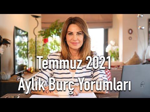 Temmuz 2021 Aylık Burç Yorumları - Hande Kazanova ile Astroloji