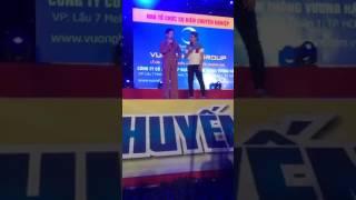 Trực tiếp Hoài Linh tại Hội Chợ An Nhơn Bình Định 2017 [ Vương Hậu ]
