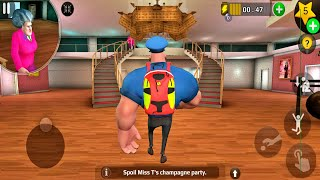 Scary Teacher 3D Update New Chapter Control Officer School in New Levels (Android/iOS) screenshot 1