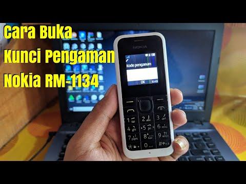 Cara Buka Kunci Pengaman Nokia//Cara Buka Kunci Nokia RM-1134//Cara Buka Kode Pengaman Nokia