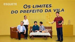 """Esquete – teatro cristão """"Os limites do prefeito da vila"""" Uma questão de fé"""