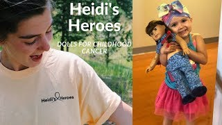 Dolls For Childhood Cancer// Heidi's Heroes- The Ellen Show And Kylie Jenner  Contest