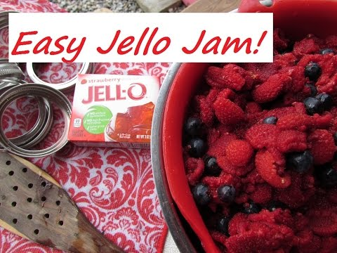 EASIEST JAM RECIPE IN THE WORLD!!!