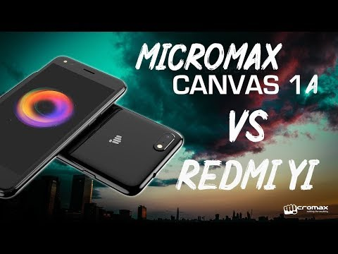 MICROMAX C1A VS REDMI Y1 Full review & Speed test !!