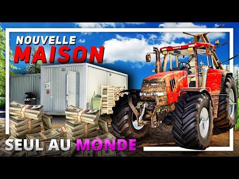 CONSTRUIRE LA MAISON !   SEUL AU MONDE #07 ! (Farming Simulator 19)