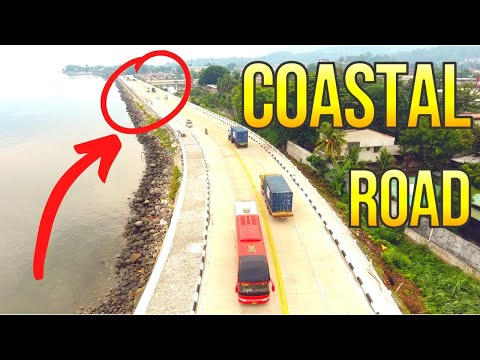 Opening of Coastal Road Cagayan de Oro Aerial Coverage 4K