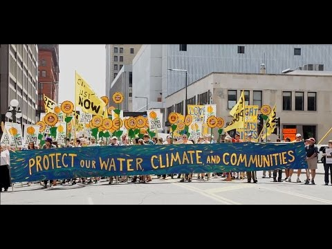 Thumbnail for The Biggest Tar Sands Resistance March - until today