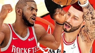 CP3 TRIES TO BULLY ME BY COMMITTING 6 FOULS ON ME! - NBA 2K19 MyCAREER #114