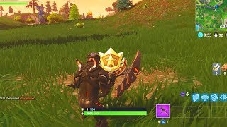 """Search between a Playground, Campsite, and a Footprint"" Location Fortnite Week 6 Challenges!"