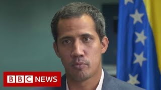 Venezuela crisis: Military force still an option, says Guaidó - BBC News