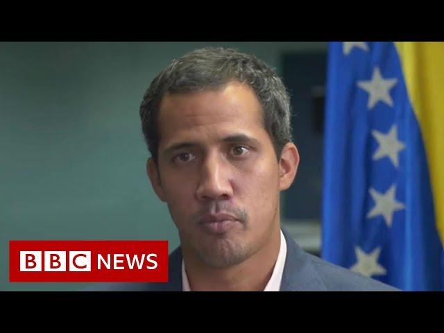 Venezuela crisis: Military force still an option, says Guaidó - BBC News