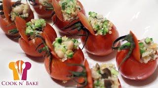 Quinoa Salad Stuffed Tomatoes (vegan Appetizers) - Cook N' Bake