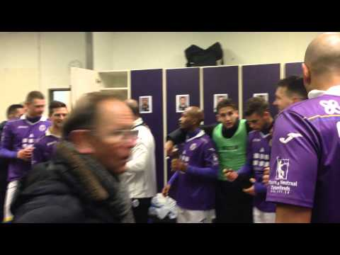 'We do what we want' in Beerschot-Wilrijk dressing room