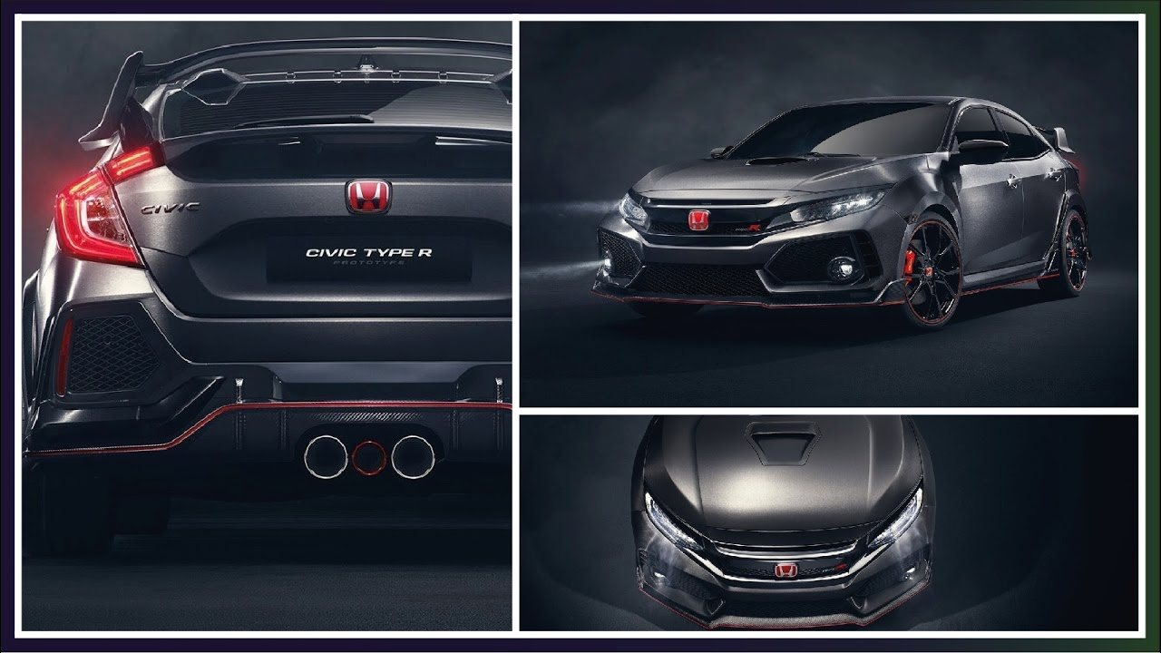 Honda News 2018 Civic Type R Prototype Offers First Look Upcoming Cars 2017 Usa