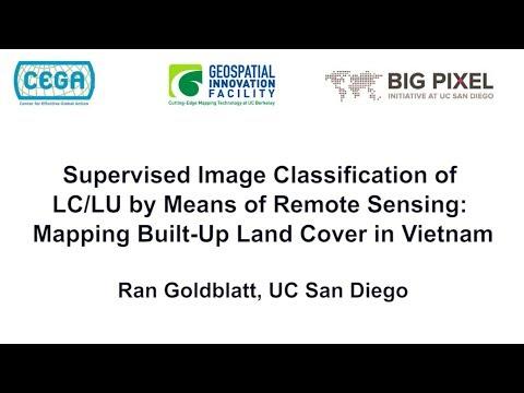 Geo4Dev Conference 2017: Ran Goldblatt, UC San Diego