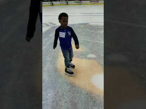 Ice skating with Hollywood