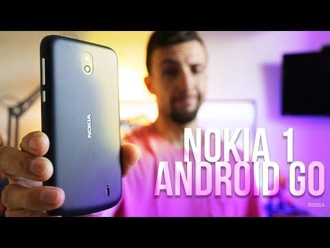 ANDROID GO NON FA MIRACOLI ! - Nokia 1 Recensione