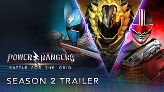 Power Rangers: Battle for the Grid - Season Two Pass Trailer