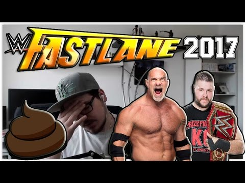 WWE FASTLANE 2017 LIVE REACTIONS! | SCHLECHTESTER PPV EVER?! | German/Deutsch