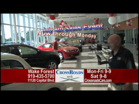 CrossRoads Nissan Wake Forest 4th Of July Sale