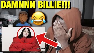 Billie Eilish Sings Miley Cyrus, H.E.R., and P!nk in a Game of Song Association | REACTION!!