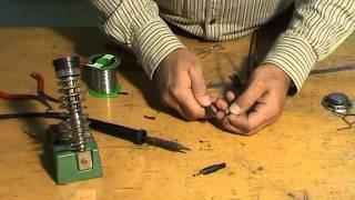 7 Préparation cable et soudage fiche jack