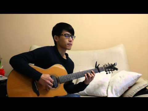 林俊傑-不為誰而作的歌 (acoustic guitar solo)