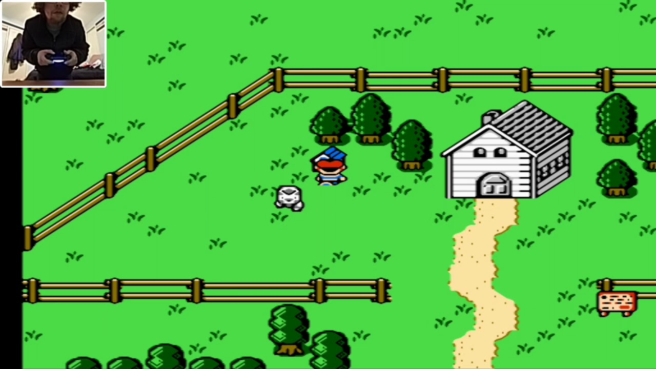 EarthBound Beginnings on Android played with a Wireless PS4 Controller in  HD!