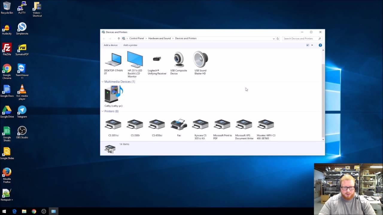 Kyocera print driver on windows