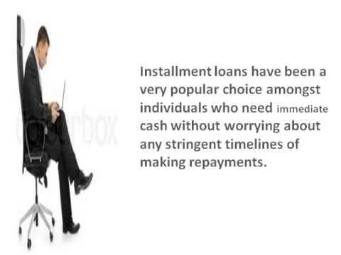 Installment loans- Get Cash Relief With Flexible refund Tenure