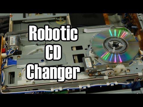The CD Player with a Robot Inside: Pioneer CLD-M301