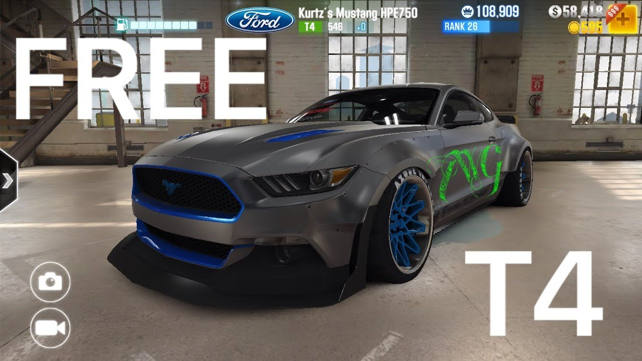 csr racing 2 how to get a mustang hpe750 for free t4 car free kurtz youtube. Black Bedroom Furniture Sets. Home Design Ideas