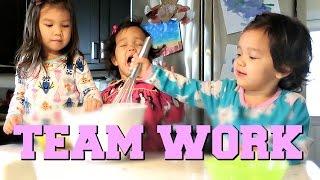 TEAM WORK MAKES THE DREAM WORK! - November 17, 2016 -  ItsJudysLife Vlogs