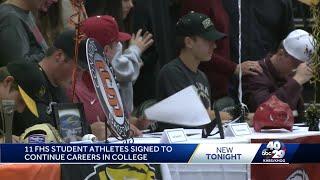 FHS student signs to join Razorbacks baseball team