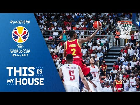 Cameroon v Angola - Full Game - FIBA Basketball World Cup 2019 - African Qualifiers