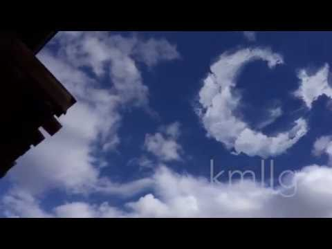 İNANILMAZ - Gökyüzünde beliren Ay Yıldızlı Türk Bayrağı (Turkish flag in the sky)