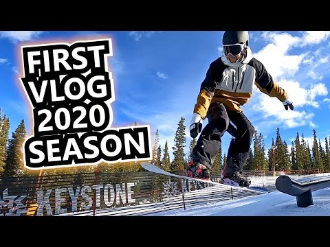 First Snowboard Vlog Of The 2020 Season - Keystone, Colorado