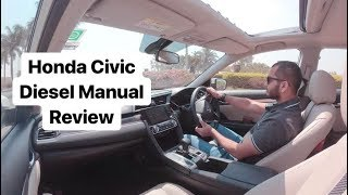 2019 Honda Civic Review in India - Diesel Manual Engine (Hindi + English)