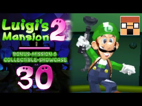 🌙 LUIGI'S MANSION 2 [BONUS] • Alle Juwelen-Showcase & Bonus-Mission • [Let's Play | 3DS | Deutsch]