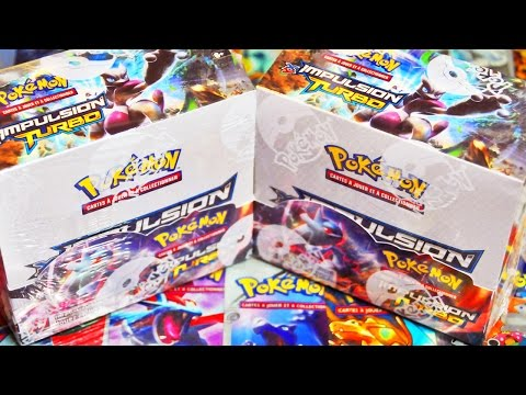 [Speed Opening] Ouverture de 2 Display Pokémon XY8 Impulsion Turbo - Cherchons MEWTWO EX FULL ART !