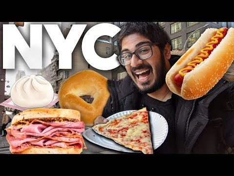 BEST food in New York City - Top 10 Foods to try in NYC