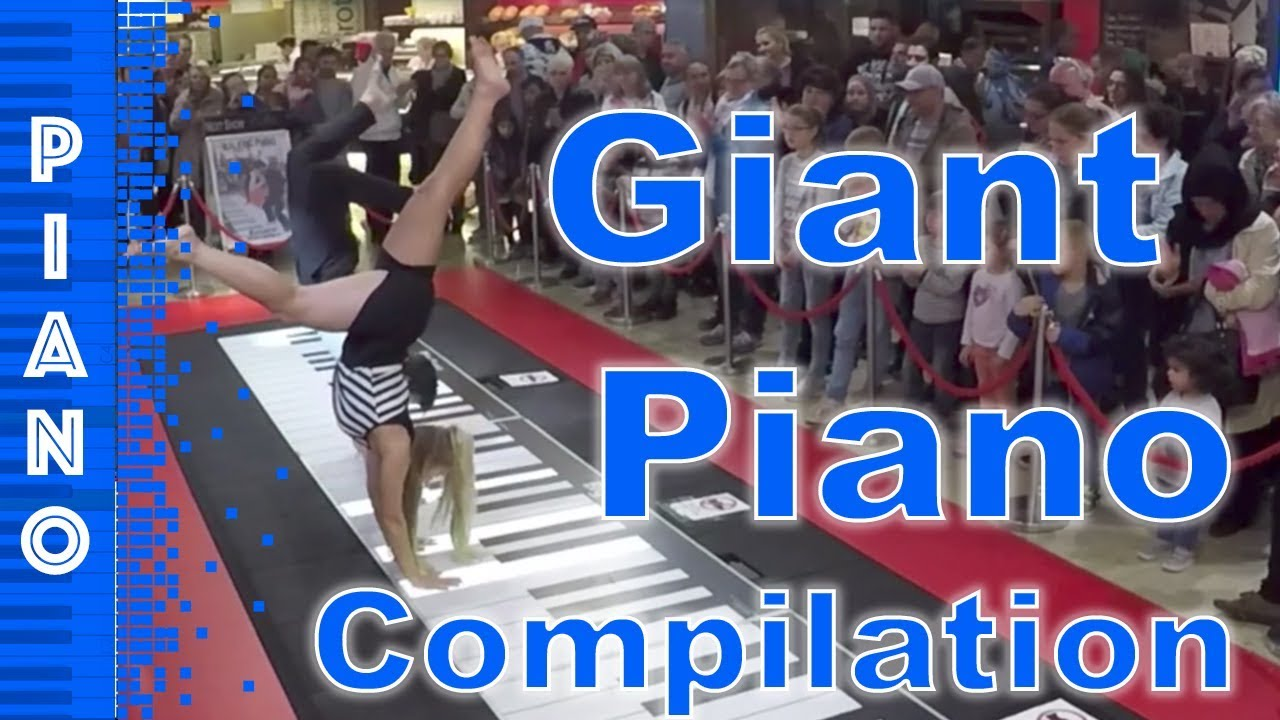 Download Giant Piano Compilation - The 5 most amazing giant piano videos on Youtube 2017 - walking piano