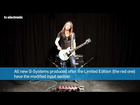 New G-System 4.02 Software Update from TC Electronic