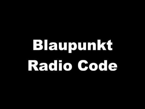 blaupunkt opel bmw fiat alfa radiocode car radio code verloren neuer radio code hier youtube. Black Bedroom Furniture Sets. Home Design Ideas
