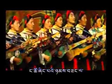 Amazing Tibetan Lhatse step dance,  (Part-2)    Paling Video 6/24/2012
