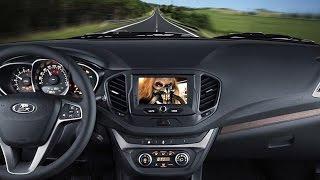 Как смотреть видео на ММС Lada Vesta во время поездки